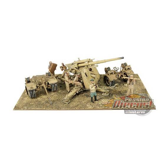 Flak 36 88mm Anti-Tank Gun Battle of EL Alamein, North Africa, June 1942  1:32 Forces of Valor 801008B Passion Diecast