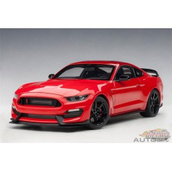 Ford Shelby GT-350R - Racing red  AUTOART 1/18  72935  Passion Diecast