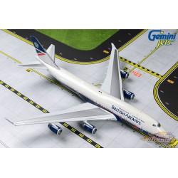 British Airways Boeing 747-400 G-BNLY  Landor Livery  Gemini jets  1/400  GJBAW1857  Passion Diecast