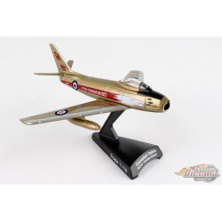 CANADAIR SABRE  RCAF  GOLDEN HAWKS 1/110  POSTAGE STAMP  PS5361-4 Passion Diecast