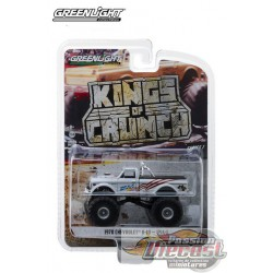 USA-1 - 1970 Chevy K-10 Monster Truck Kings of Crunch Series 1  GreenLight 1/64   49010-B