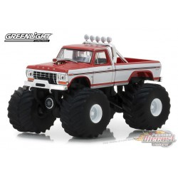 1979 Ford F-250 Monster Truck - Kings of Crunch Series 1  GreenLight 1/64   49010 E  Passion Diecast