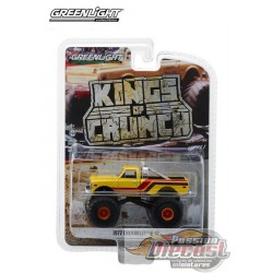 1972 Chevy K-10 Monster Truck - Kings of Crunch Series 1  GreenLight 1/64   49010 F  Passion Diecast