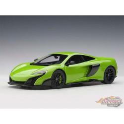 McLaren 675LT Napier Green  AUTOART 1/18  76049 Passion Diecast