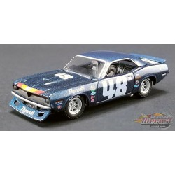PLYMOUTH TRANS AM BARRACUDA 1970- DAN GURNEY no 48   ACME 1-64  51263 PassionDiecast