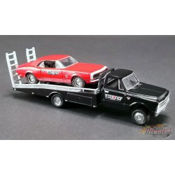 NICKEY PERFORMANCE - 1967 CHEVROLET C-30 RAMP TRUCK WITH 1967 CAMARO  Acme 1/64   51270 Passion Diecast