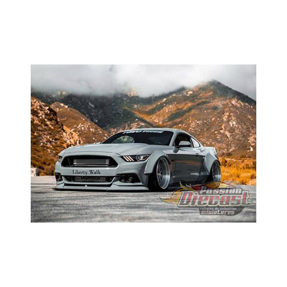 Ford Mustang LB-Works Grey  GT SPIRIT GT264  Passion Diecast