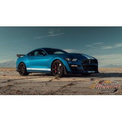 Ford Mustang Shelby GT500 2020 Blue GT SPIRIT GT268  Passion Diecast