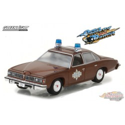 1977 Pontiac LeMans Sheriff Buford T. Justice's    Smokey and the Bandit Greenlight 1/64  -  44780 B Passion Diecast