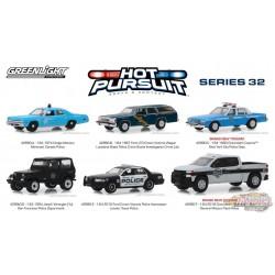 Hot Pursuit série 32 Assortiment Greenlight 42890 1-64  PASSION DIECAST