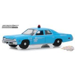 1974 Dodge Monaco  de la Police de Montréal, Canada   1-64 greenlight 42890 4 Passion Diecast