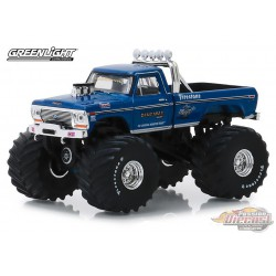 Bigfoot no1 - 1974 Ford F-250 Monster Truck Kings of Crunch  serie 4 greenlight   1-64 - 49040 A Passion Diecast