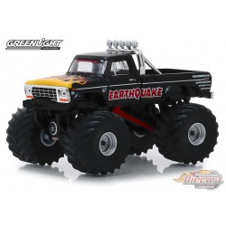 Earthquake - 1975 Ford F-250 Monster Truck Kings of Crunch  serie 4 greenlight   1-64 - 49040 B Passion Diecast