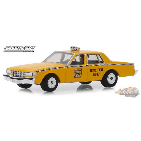 1987 Chevrolet Caprice New York City Taxi Cab Hobby Exclusive 1 64 Greenlight 30077 Passion Diecast