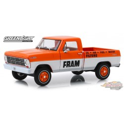 1967 Ford F-100 - FRAM Oil Filters  Running on Empty 3   1/24 Greenlight 85042  Passion Diecast