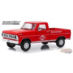 1971 Ford F-100 - Firestone Tire Service  Running on Empty 3   1/24 Greenlight 85043  Passion Diecast