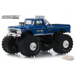 Bigfoot no1 Ford F-250 1974  Monster Truck with 66-Inch Tires  Greenlight 1/43 88011 Passion Diecast