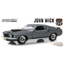 Ford Mustang BOSS 429 1969 - John Wick 1/18 HWY 61  18016 Passion Diecast