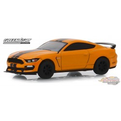 2019 Ford Shelby GT350R in Orange Fury  GL Muscle Series 22 1-64  greenlight 13250 F Passion Diecast