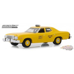 1975 Ford Torino - NYC Taxi  -  (Hobby Exclusive) 1/64 Greenlight 30058  Passion Diecast