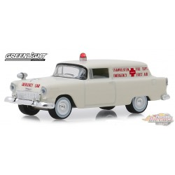 1955 Chevrolet Sedan Delivery  Channelview, Texas Fire Department -  (Hobby Exclusive) 1/64 Greenlight 30071 Passion Diecast