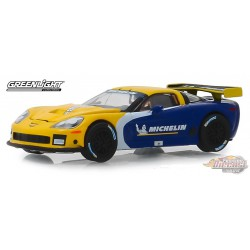 2009 Chevrolet Corvette C6.R  Michelin Tires -  (Hobby Exclusive) 1/64 Greenlight 30074  Passion Diecast