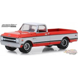 "1969 Chevrolet K10 4X4 Pickup  Barrett-Jackson ""Scottsdale Edition"" Series 4   greenlight  1-64 - 37180 C Passion Diecast"