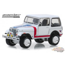 "1981 Jeep CJ-7 Custom Barrett-Jackson ""Scottsdale Edition"" Series 4   greenlight  1-64 - 37180 E Passion"