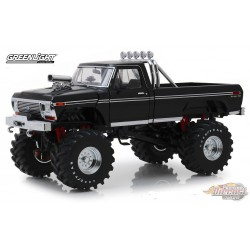 Ford F-250 Monster Truck 1979 with 48-Inch Tires Kings of Crunch - Black  Greenlight 13538 1/18 Passion Diecast