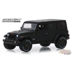 2016  Jeep Wrangler Unlimited - 75th   Anniversary Collection Series 9    Greenlight  1-64 - 28000 F  Passion Diecast