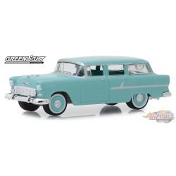 1955 Chevrolet Two-Ten Townsman in Sea Mist Green Estate Wagons Series 4 - 1/64  Greenlight 29970  Passion Diecast