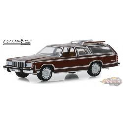 1980 Mercury Grand Marquis Colony Park in Dark Chamois Metallic w/ Woodgrain Estate Wagons Series 4 - 1/64  Greenlight 29970 F P