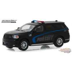 2019 Dodge Durango Pursuit Police SUV - Black  -  (Hobby Exclusive) 1/64 Greenlight 30098 Passion Diecast