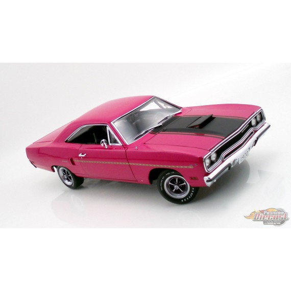 1970 HEMI PLYMOUTH ROADRUNNER FM3 MOULIN ROUGE GMP 1/18  1803113 Passion Diecast