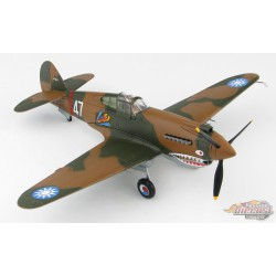 Curtiss P-40B Warhawk  AVG Flying Tigers 3rd PS, White 47, Robert Smith  Hobby Master 1/48  HA9203  Passion Diecast