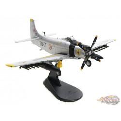 Douglas AD-4 Skyraider  French Air Force EC 2/20 Quarsenis, Algeria, 1960s Hobby Master 1/72  HA2916  Passion Diecast