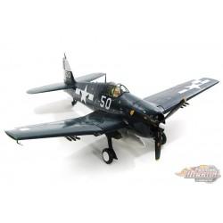 Grumman F6F-5 Hellcat USN VF-17 Jolly Rogers, White 50, USS Hornet, 1945  ,Hobby Master 1/32 HA0307 Passion Diecast