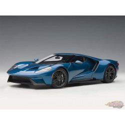 Ford GT 2017 LIQUID BLUE  AUTOART 1/18 72942 Passion Diecast