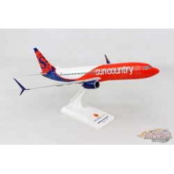 Sun Country Boeing 737-800 N804SY New Livery Skymarks  1/130 SKR1006  Passion Diecast