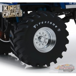 Firestone - 48-Inch Monster Truck Wheel and Tire Set Greenlight  1/18 13546 Passion Diecast
