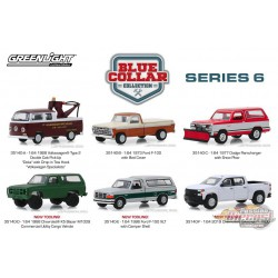 Blue Collar Collection Series 6  assortment Greenlight 1/64, 35140 Passion Diecast