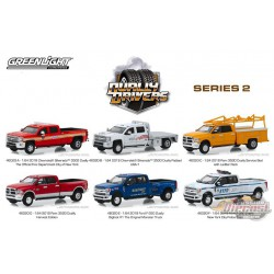 Dually Drivers Series 2  assortment  1-64  greenlight 46020   Passion Diecast