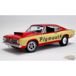 PLYMOUTH BARRACUDA 1968  - SUPER STOCK TEST MULE  ACME 1/18 A1806114  Passion Diecast