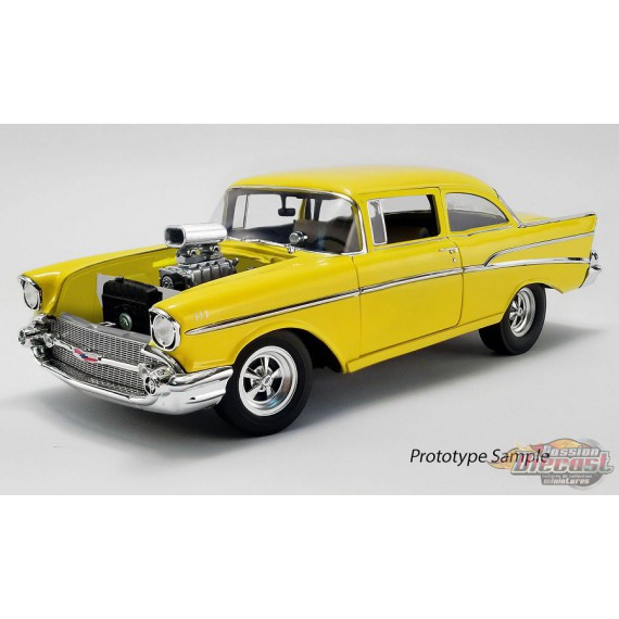 1957 CHEVROLET 210 - HOLLYWOOD KNIGHTS TRIBUTE EDITION  ACME 1/18 A1807006  Passion Diecast