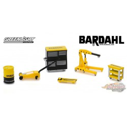 Bardahl  Shop Tool Accessories Series 1 Greenlight 1/64 16020 A Passion Diecast
