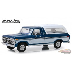 1975 Ford F-100   and Deluxe Bed Cover Greenlight 1/18  13544 Passion Diecast