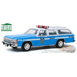 1988 Ford LTD Crown Victoria Wagon - New York City Police Department (NYPD) Greenlight 1/18  19062 Passion Diecast
