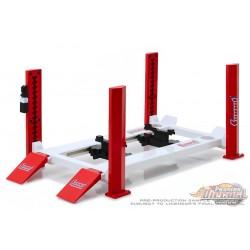 Four-Post Lift - Summit Racing Equipment -  Greenlight 1/18, 13549 Passion Diecast