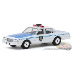 1989 Chevrolet Caprice - New York City Transit Police Department - Hobby Exclusive 1/64 Greenlight 30100 Passion Diecast
