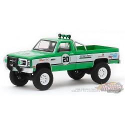 1981 GMC K-2500- GreenLight  Stuntman Association #20 - 2020 Tradeshow Exclusive 1/64 Greenlight 30102  Passion Diecast